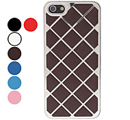 For iPhone 5 Case Plating Case Back Cover Case Geometric Pattern Hard Aluminium iPhone SE/5s/5