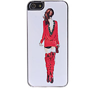 Women Pattern Hard Case for iPhone 5/5S