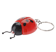 Ladybird Style White Light LED Keychain (colore casuale)