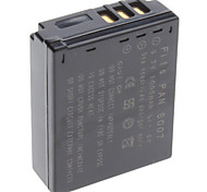 Digital Video Battery Replace Panasonic S007 for Panasonic Lumix DMC-TZ1 and More (3.7v, 1000 mAh)