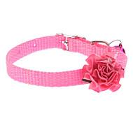 Mini Colorful Rose Collare Style per i cani (a colori assortiti)