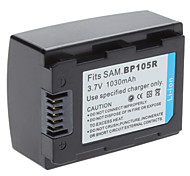Digital Video Battery Replace Samsung BP105R for Samsung HMX-F80 HMX-F800 and More (3.7v, 1030 mAh)