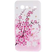 Plum Blossom Soft Case for Samsung Galaxy S Advance I9070