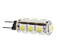 2W G4 Bombillas LED de Mazorca T 13 SMD 5050 180 lm Blanco Natural DC 12 V