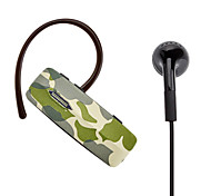 R520 Camouflage Design Bluetooth Headset for Samsung Galaxy S3 I9300 and Others