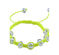 European Style  Fashion Weave Beads Adjustable Bracelet