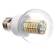 8W E26/E27 Bombillas LED de Globo G60 138 SMD 3528 620 lm Blanco Cálido / Blanco Fresco AC 100-240 V