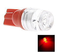 T10 1.5W Red Light LED Bulb for Car Side Maker Lamp (DC 12V)