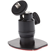 Car Screw Head Rotatable 3M Stickup Mount Stander for Camera (HD-052B, Load Bearing: 500g)