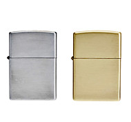 Matte Finish USB Charging Vintage Eletronic Lighter (Random Color)