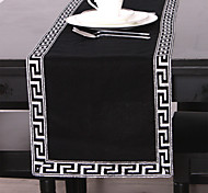 Classic Silver Printed Table Runner
