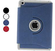 disegno ruotabile pu custodia in pelle w / stand per iPad mini 3, Mini iPad 2, iPad mini (colori assortiti)