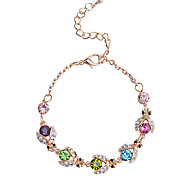 European Style  Fashion Multicolour  Little Beetle Gold Plating Bracelet Set