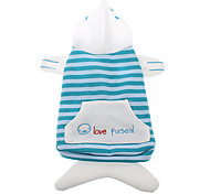 Lovely Furseal Style Cotton Hoodies for Dogs (XS-XL)
