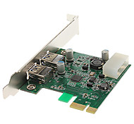 High Speed USB 3.0 2 ports PCI-E Card