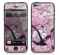 """Codice Da ™ Pelle per iPhone 4/4S: """"Cherry Blossom (Sakura)"""" (Piante Series)"""