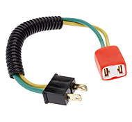 H7 Male to Female Wire Harness Sockets Extension Cable for Car Headlamp/Fog Lamp