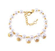Vintage Thalami collana di perle per gli animali domestici