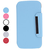 Magnet Design Rotatable Leather Case with Stand for Samsung Galaxy S4 I9500 (Assorted Colors)