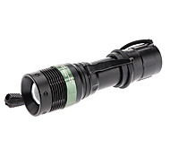 Zoom A09 rechargeable 3-mode Cree XR-E Q5 LED Flashlight (200lm, 3xAAA/1x18650)