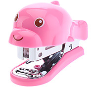 Cute Dolphin Style Mini Stapler with 640pcs Staples Set (Random Color)