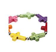 Beau Style Candy Colored Glaze Bracelace
