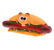 Laughing Hot Dog Style Squeaking Toys for Dogs
