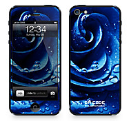 "Codice Da ™ Pelle per iPhone 4/4S: ""Blue Rose"" (Piante Series)"