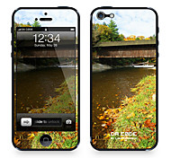 """Da Code ™ Skin for iPhone 5/5S: """"House on a River"""" (Nature Series)"""