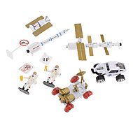 Feisu 1:87 JP530 Space Shuttle set di giocattoli (10pcs, stile casuale)