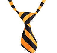 Dog Tie Spring/Fall - White / Orange - Wedding - Nylon