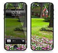 """Codice Da ™ Pelle per iPhone 4/4S: """"Secret Casa nella foresta"""" (Nature Series)"""
