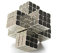 Metal Building Blocks DIY Toys Silver