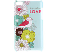 Birds Pattern Hard Case for iPod Touch 4