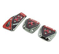 3-pieces Universal Non-slip Pedal Series (Assorted Color)