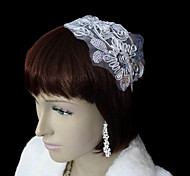 Women's Alloy/Cotton Headpiece - Wedding/Special Occasion/Casual/Outdoor Flowers