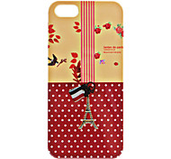 Eiffel Tower Pattern Hard Case for iPhone 5/5S