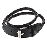 Men's Long Braided Leather Bracelet(Assorted Color)