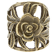 Restoring Ancient Ways Hollow Flower Ring