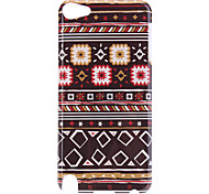 Square Stripe Pattern Protective Hard Case for iPod Touch 5