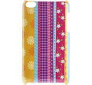 Fleur Pattern Hard Case for iPod Touch 4