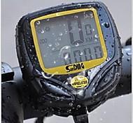 LCD digital sem fio à prova d'água da bicicleta velocímetro da bicicleta computador