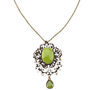 Elegent Green Opal Necklace