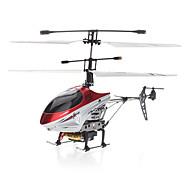 4 canales mini aleación helicóptero teledirigido infrarrojo (pila de botón)