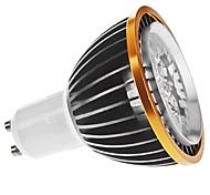 Focos LED Regulable MR16 GU10 5W 5 LED de Alta Potencia 350 LM Blanco Cálido AC 100-240 V
