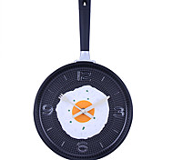 "Reloj de pared de estilo analógico 14.2 ""h tortillas Pan (color al azar, 1xAA)"