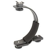 Suporte Lanterna C-Shaped para câmera ou filmadora