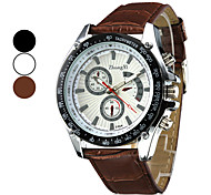 Men's Watch Luxury Dress Watch Stereoscopic Dial with Unique Pointers Wrist Watch Cool Watch Unique Watch