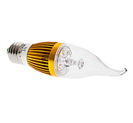 E26/E27 4 W 4 High Power LED 360 LM Warm White CA Decorative Candle Bulbs AC 85-265 V