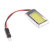 T10/BA9S/Festoon 0.5W Natural White Light COB LED Bulb for Car Reading Lamp (12V)